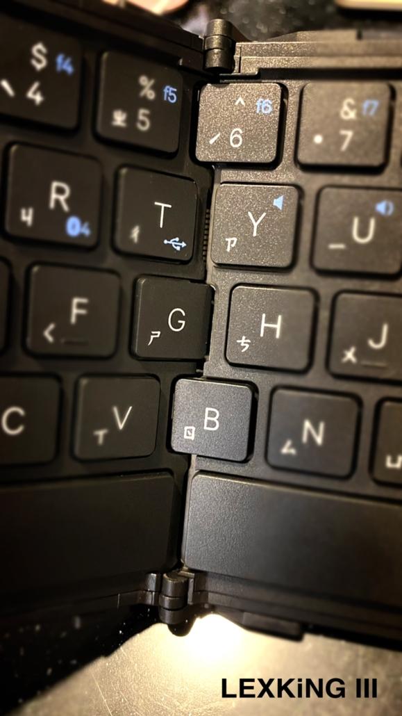 BT-7269 天狼星(三代)藍牙3.0雙介面摺疊鍵盤